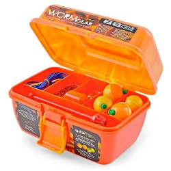 South Bend® Worm Gear Tackle Assortment Orange